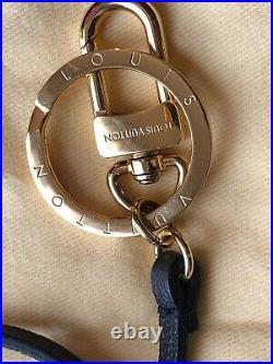 100% Auth Louis Vuitton Bag Charm Key Chain Strap