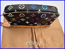 100% Real Louis Vuitton Murakami Multicolor Monogram with LV Key Chain Extender