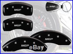 2005-2010 Scion tC Logo Black Brake Caliper Covers Front Rear & Keychain