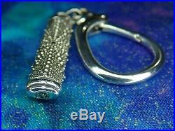 23 Grams David Yurman Sterling Silver Urchin With Black Diamond Keychain $795