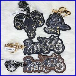 4 Coach Chelsea Champlain Bag Charms Key Chain F76959 / F75521 / F77915 / F75522