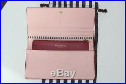 4pcHenri Bendel West 57th Satchel Pink Saffiano Leather wallet Keychain dustbag