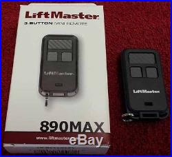 890MAX 12PACK LiftMaster Keychain Remote 370LM 970LM 371LM 971LM Chamberlain 81