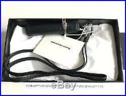 ALEXANDER WANG Black Leather Smoking Lanyard Key-Chain RRP £210