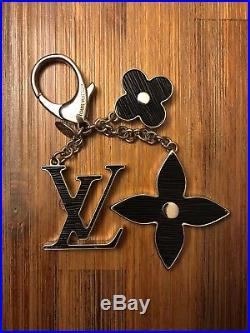 AUTHENTIC Louis Vuitton FLEUR D'EPI BAG CHARM