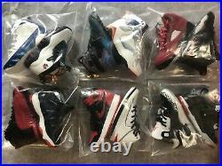Air Jordan 12 Clock with 3D mini Sneakers PLUS Keychain