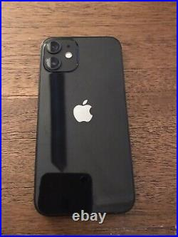 Apple iPhone 12 mini 128GB Black UNLOCKED withair tag and key chain