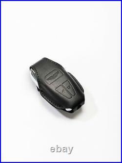 Aston Martin Leather Key Pouch Black DB11, DBS Superleggera & New Vantage