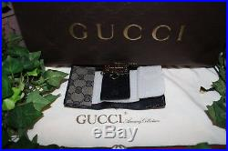 Atypical Gucci Leather Key Chain 6 Hook Holder