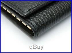 Auth GUCCI GG Mermont Holder 6 key case 456118
