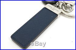 Auth LOUIS VUITTON LV Circle Bag Charm Key Holder Black M00035 Auth #5942