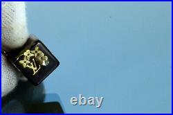 Auth LOUIS VUITTON Mini Cube Phone Strap Phone Bag Key Charm Key Accessories