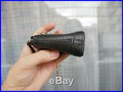 Auth Louis Vuitton Key Holder Black Epi Mini Lockit Bag Charm W7-9cm H9cm S/f