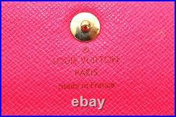 Auth Louis Vuitton Monogram Multicolor Multicles 4 Black Key Case LV A2752