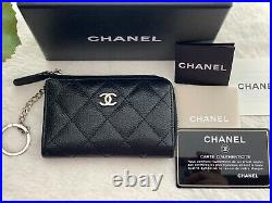 Authentic CHANEL Coin Purse/Card Holder Chain