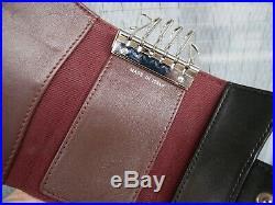 Authentic CHANEL Matelasse Black Lambskin 6-Hooks Key Case #3145P