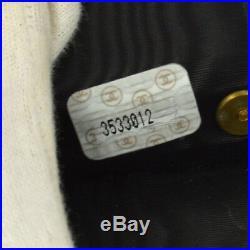 Authentic CHANEL Vintage CC Logos Six Hooks Key Case Black Caviar Skin AK25380f