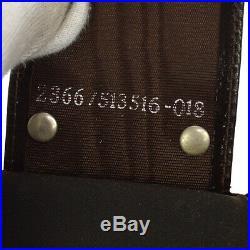 Authentic FENDI Zucca Pattern Six Hooks Key Case Brown Canvas Vintage AK34252