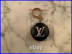 Authentic LOUIS VUITTON KEY HOLDER M51912 Astropill Monogram Black Murakami LV
