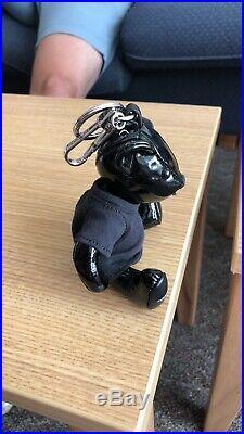 Authentic Leather Burberry Thomas Bear Keychain