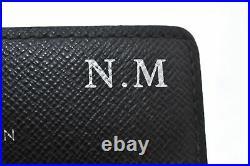 Authentic Louis Vuitton Damier Graphite Multicles 6 Key Case M62662 LV A8913
