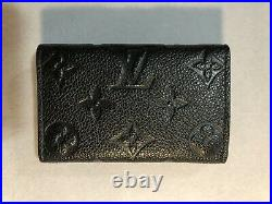 Authentic Louis Vuitton Empriente Noir 6 Key Holder Made In France