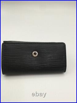 Authentic Louis Vuitton Epi Multicles 6 Key Case Holder Black