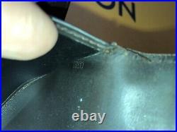 Authentic Louis Vuitton Gurase Black Monogram Leather Key Wallet Holder Chain