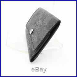 Authentic Louis Vuitton Key Case Multicles6 Black Damier Graphite 357430