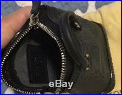 Authentic RARE Preowned Louis Vuitton Black Epi Mini Lockit Keychain Rare