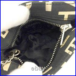 Authentic, Very Cool, Cute Chanel Multi Function Coin/ Key Chain Mini Pouch Bag