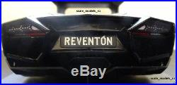 Autoart 118 Lamborghini Reventon Black New & V Rare + Wheel Key Chain