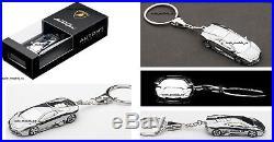 Autoart 118 Lamborghini Reventon Black New & V Rare + Wheel Key Chain