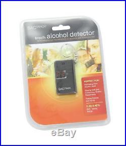 BACtrack Keychain Breathalyzer Portable Keyring Breath Alcohol Tester Black