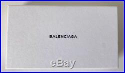 BALENCIAGA Black Logo Keychain