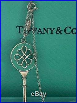 BLACK FRIDAY Authentic TIFFANY KEYS Knot Key Pendant and chain
