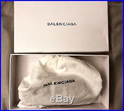Balenciaga Black Logo Lanyard Keychain
