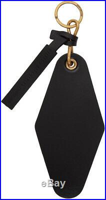 Balenciaga Hotel Diamond Keychain Black One Size Mens New