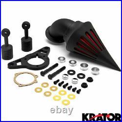 Black Spike Air Cleaner Intake For Harley Davidson Softail+Cruiser Keychain