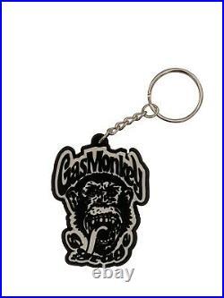 Brand New Gas Monkey Garage Fast N' Loud Gmg Monkey Face Pvc Keyring Key Chain