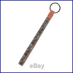 Brand New Goyard Black Brown Sesame Key Holder Key Chain