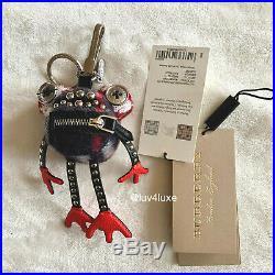 Burberry Doris Black Frog Bag Charm Keychain Key chain