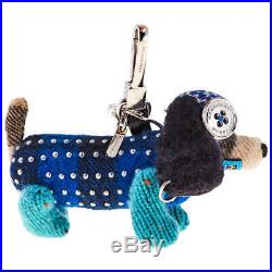 Burberry Tilly The Sausage Dog Cashmere Charm 8000440