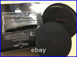 CHANEL Les Mini De Chanel Set makeup brushes bag pouch Holiday Novelty 2015 Coco