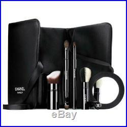 CHANEL Les Mini De Les Indispensab Set makeup brushes bag pouch Holiday 2017