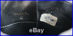 CHANEL Matelasse Multi Case Black Lambskin Leather Vintage Authentic #S401 W