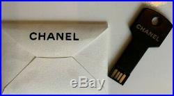 CHANEL USB 8GB VIP GIFT Novelty Key Shape Press Kit Paris Bag Watch Wallet Ring