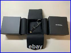 CHANEL USB Novelty Key Shape Wallet Pendant WITH BOX! BITCOIN FRIENDLY