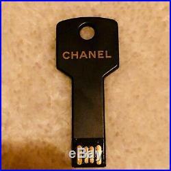 CHANEL USB VIP GIFT Novelty Key Shape Press Kit Paris Bag Watch Wallet Ring NEW