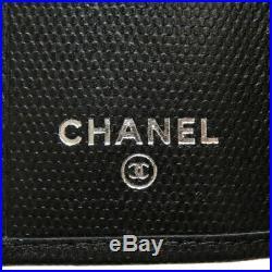 CHANEL key holder COCO Mark Calf